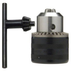 Portabrocas con llave 13mm 3/8 hem