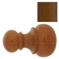 "Terminal madera ""chyc"" 20x68mm nogal"