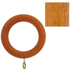 Anilla madera lisa c/h.29x45mm teca