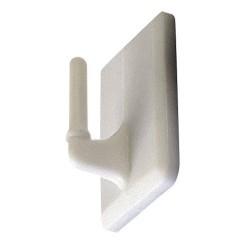Gancho adhes.23,5x17 p/portavis.metalico