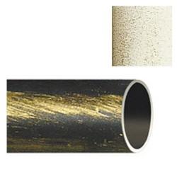 Barra hierro forja 28mm x2,00mt marf/oro