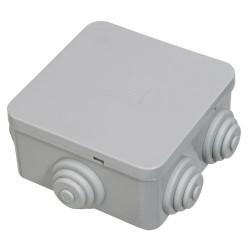Caja estanca superfic c/clip 80x80x40