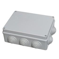 Caja estanca superfic c/torn 190x140x70
