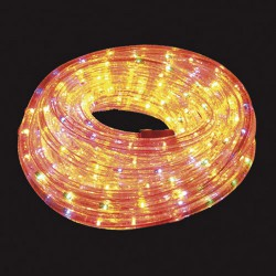 Luces navid.tubo luz colors ext-ip44 10m