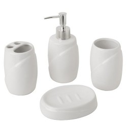 Jgo.baño ceramica maurer  4 pzas.
