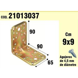 Soporte p/madera angulo 65x 90x 90/2,5
