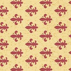 Lamina adhesiv flor lis roja 45cmx20m