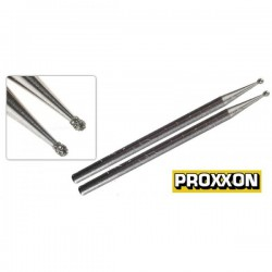 Muelas diamantadas 1 mm. Proxxon