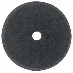 Disco de corte, con refuerzo textil