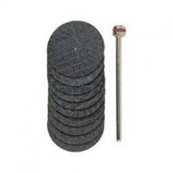 Discos separadores de alúmina con refuerzo 22 mm. Proxxon