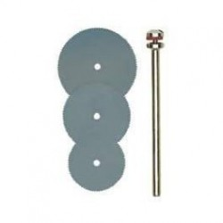 Discos de corte de sierra de acero de fleje Proxxon