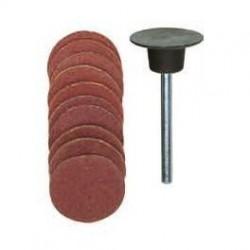 Lija adhesiva fabricadas corindón normal granos 120
