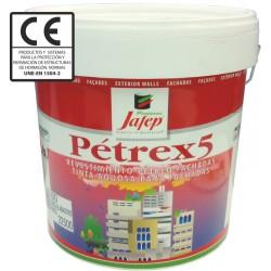 Pintura Plástica Pétrex 5 Revestimiento Liso 4L.