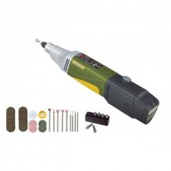 Taladro Proxxon rectificador a batería IBS/A + LI/A + LG/A