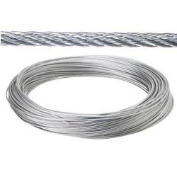 Cable galv. 3mm(ro 100mt) no elevacion