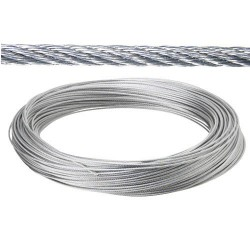 Cable galv.   4mm(ro 100mt) no elevacion