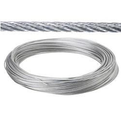 Cable galv. 5mm(ro 100mt) no elevacion