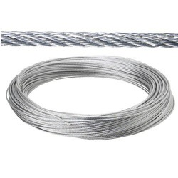 Cable galv.  10mm(ro 100mt) no elevacion
