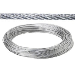Cable galv.   3mm(ro  25mt) no elevacion