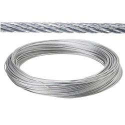 Cable galv. 3mm(ro 25mt) no elevacion