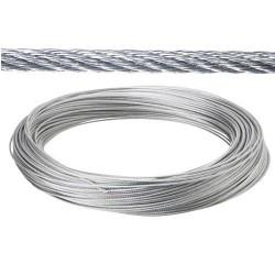 Cable galv. 4mm(ro 25mt) no elevacion