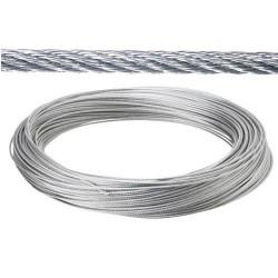 Cable galv. 6mm(ro 25mt) no elevacion