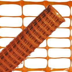 Tela balizamiento naranja 1,0mt. ro.50mt
