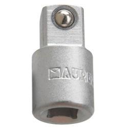 Adaptador maurer aumentador 1/4 h 3/8 m