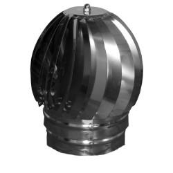Sombrero extractor galv.p/estufa 100 mm.