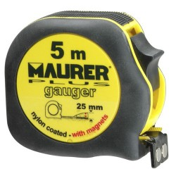 Flexometro wolfpack gauger 5mts-ancho 25