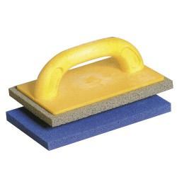 Talocha maurer c/espuma  azul 15x21 cm