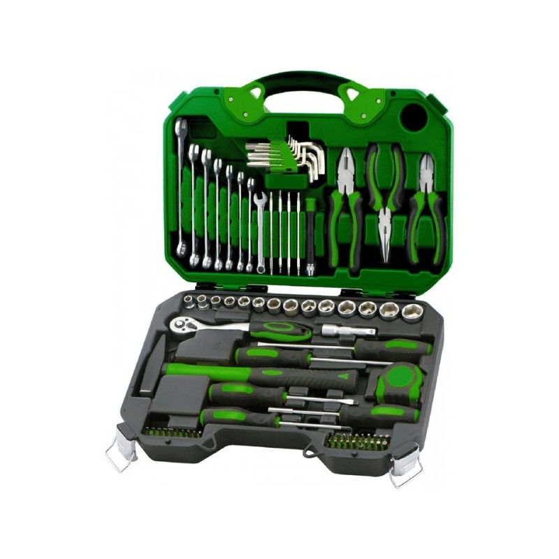 Maleta herramientas bricolaje 78 piezas salki - Maleta de herramientas ...