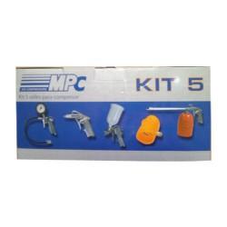 Kit Compresor 5 Piezas MPC Bricolaje
