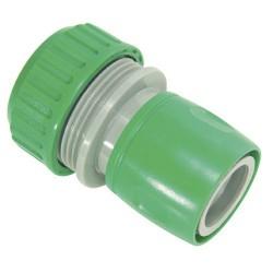 Conector mang.plastico 3/4 blister