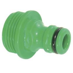 Adaptador mang.plast. 3/4-m. blister