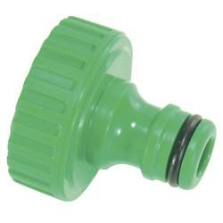 Adaptador mang.plast. 1/2-h. blister