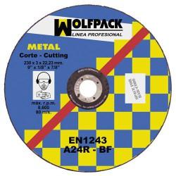 Disco wolfpack hierro 300x3,5x22