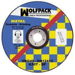 Disco wolfpack repasar 115x6,4x22