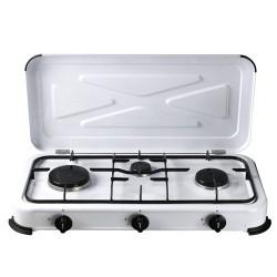 Cocina gas papillon 3 fuegos