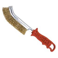 Cepillo maurer manual acero m/plas.rojo