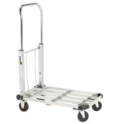 Carretilla maurer aluminio c/plataforma