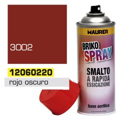 Spray maurer rojo oscuro carmin 400ml