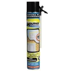 Espuma poliur.wolfpack 750 ml.c/canula