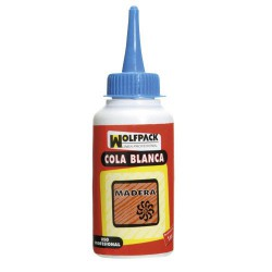 Cola blanca wolfpack 250grms biberon