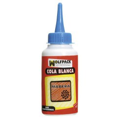 Cola blanca wolfpack 500grms biberon
