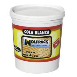 Cola blanca wolfpack 1000grms tarrina