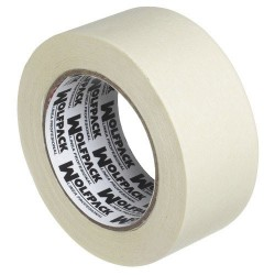 Maskin-tape wolfpack 50 mm. x 50 mt.