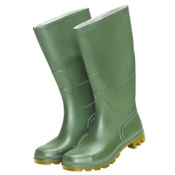 Botas goma altas verdes num.48 (par)
