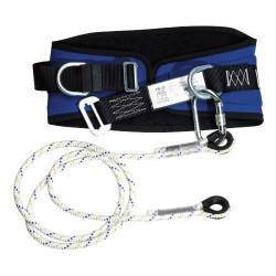 Cinturon seguridad +cuerda+ mosquet.