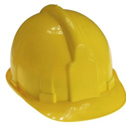 Cascos para obra maurer amarillo